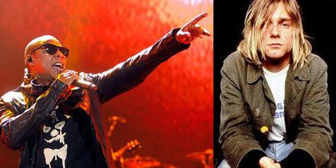 Kurt Cobain Jay Z