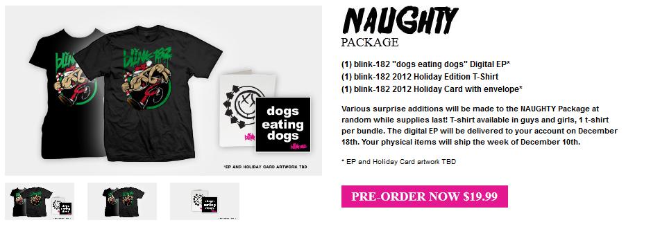 Blink 182 Annonce La Sortie De 171 Dogs Eating Dogs Avec Des