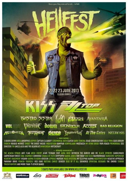 Hellfest 2013 affiche
