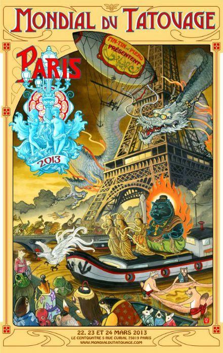 Mondial du Tatouage 2013