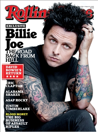 Billie Joe Rolling Sone US cover