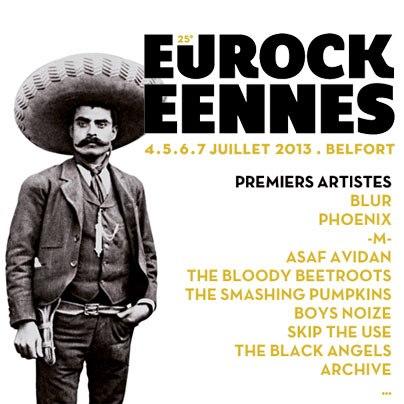 Eurockéennes 2013 1er noms