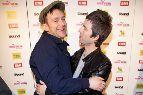 Damon albarn - noel gallagher