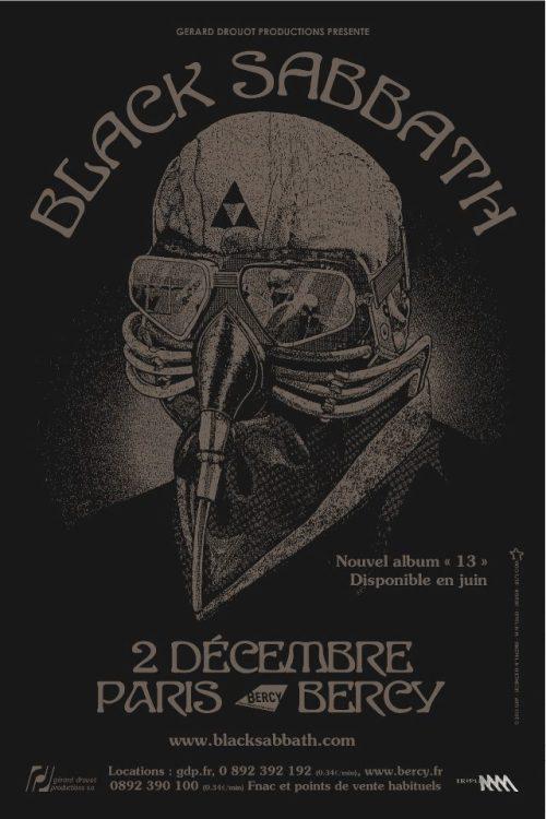 Black Sabbath Bercy 2 Décembre 2013