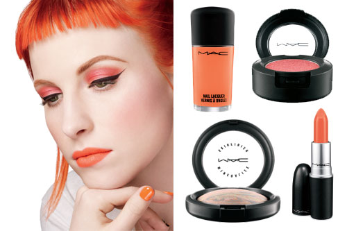 Hayley Williams Paramore Mac Cosmétiques
