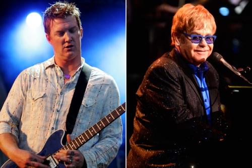 Josh homme et Elton John