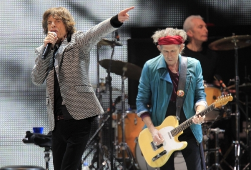 Mick Jagger Keith Richards live