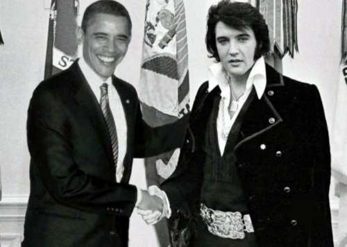 Obama Elvis