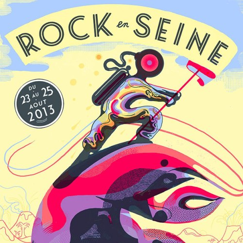 Rock en Seine 2013 artwork