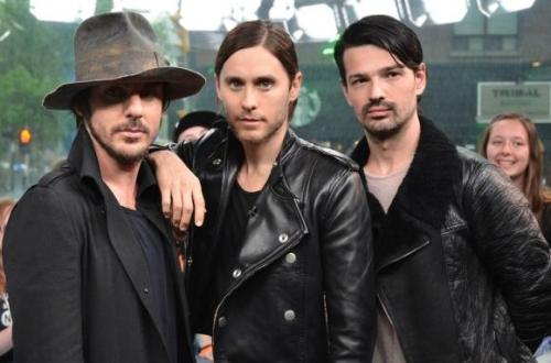 30 Seconds To Mars trio
