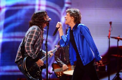 Dave Grohl et Rolling Stones