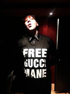 Manson free Gucci Mane shirt