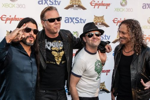 Metallica Golden Gods Awards 2013