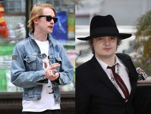Pete Doherty et Macaulay Culkin