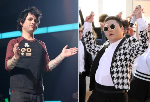 psy billie joe armstrong