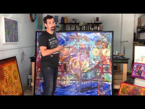 Serj Tankian painting