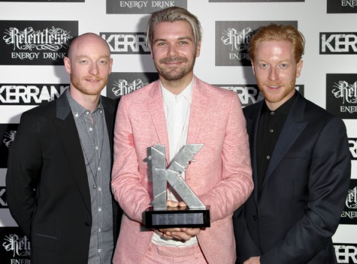 Biffy Clyro Kerrang Awards 2013