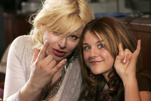 Courtney Love Frances Bean Cobain