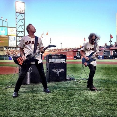 Metallica joue l'hymne américain