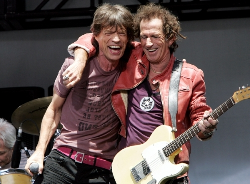 Mick et Keith
