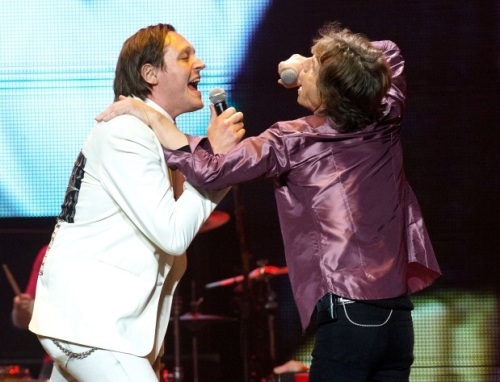 Mick Jagger et Win Butler