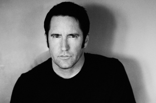 Trent Reznor black and white