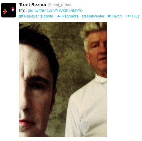 Trent Reznor et David Lynch