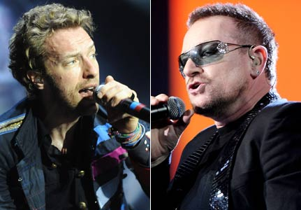 U2 chris Martin