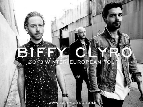 Biffy Clyro European Tour