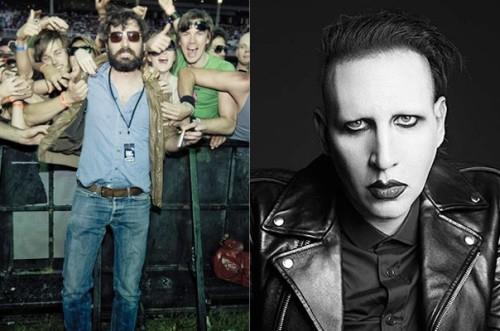 Marilyn Manson et Mr Oizo