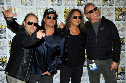 Metallica comic con