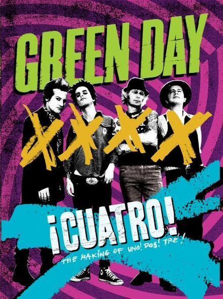 DVD Cuatro Cover