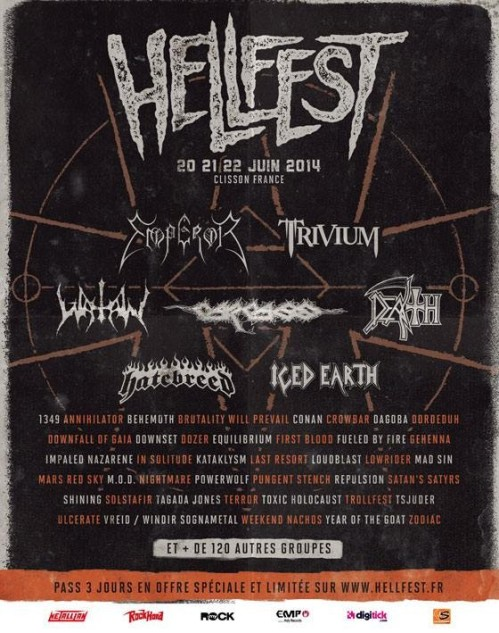 Hellfest 2014 1ère annonce