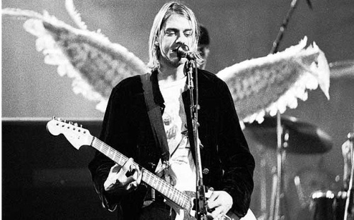 Kurt Cobain angel