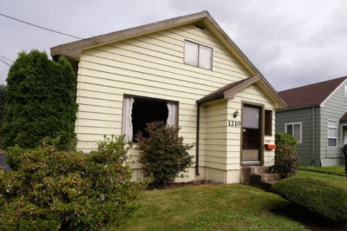 La maison d'enfance de Kurt Cobain